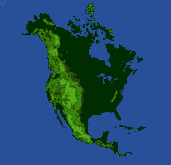 north america köppen map - 699×672